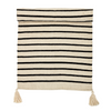 Bloomingville Black White Stripe Rug Runner