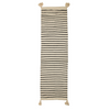Bloomingville Natural/Black Stripe Runner Rug