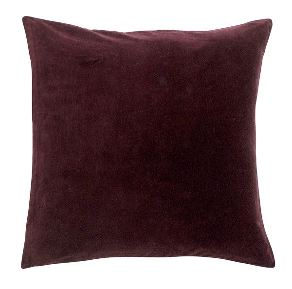 Nordal Burgundy Velvet Cushion