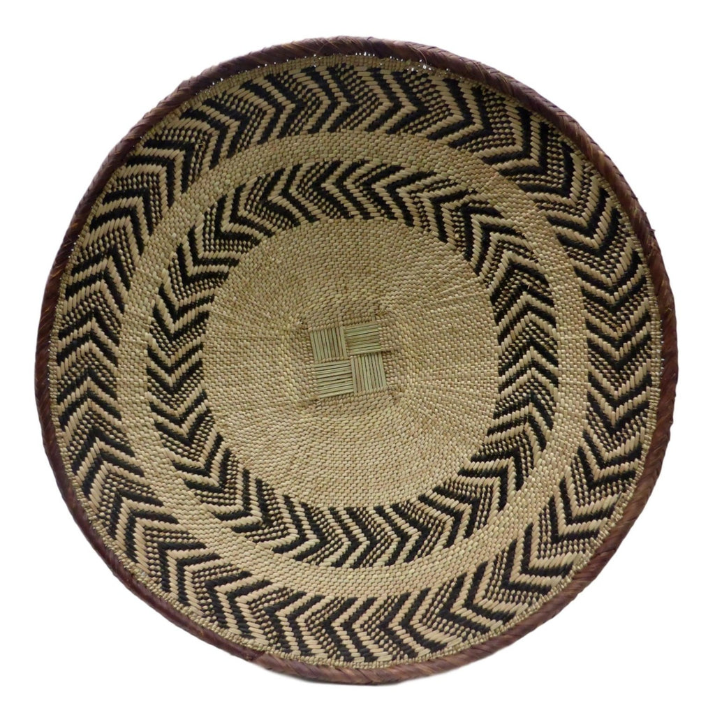 "Binga Basket 52cm(20 1/2"") - African Basket, African Wall Baskets (Second) - ZBB2230"