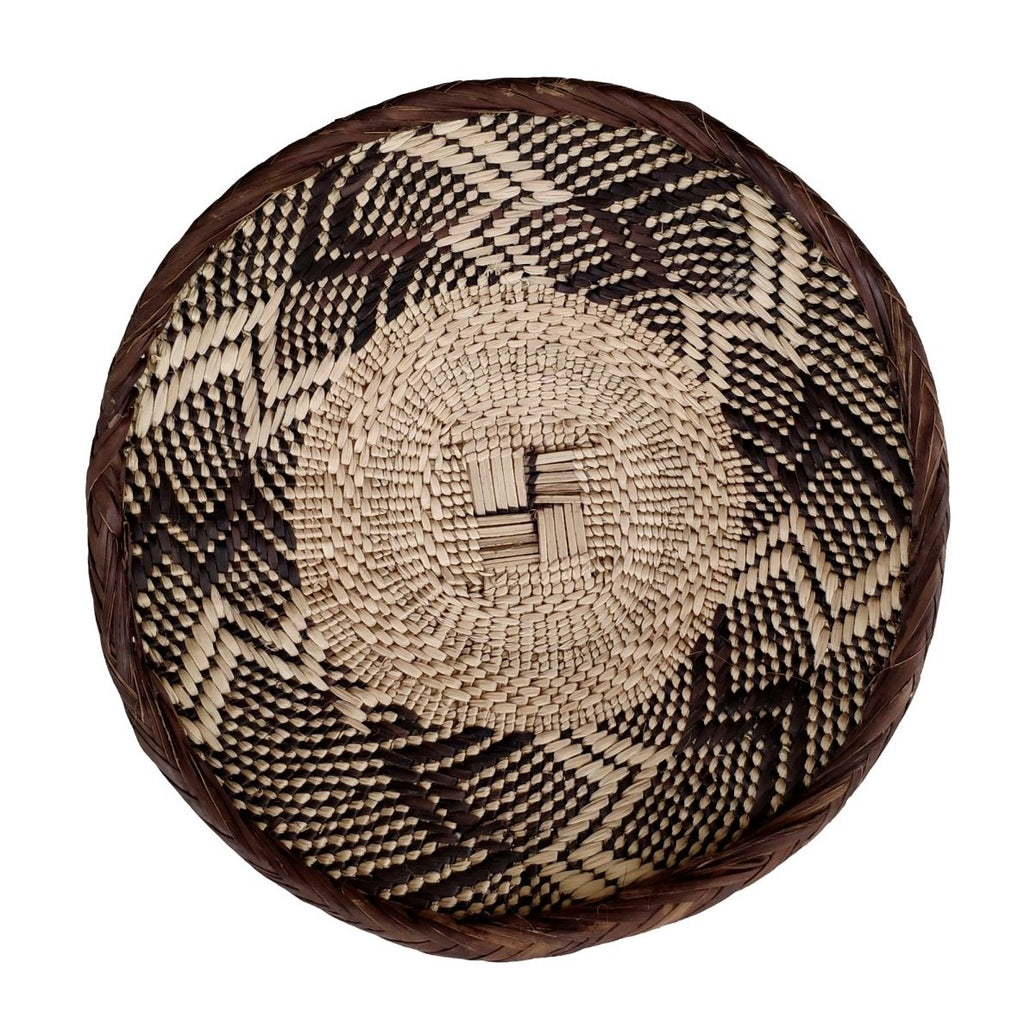 "Binga Basket 20.5cm (8"") - African Wall Baskets - ZBB2459"