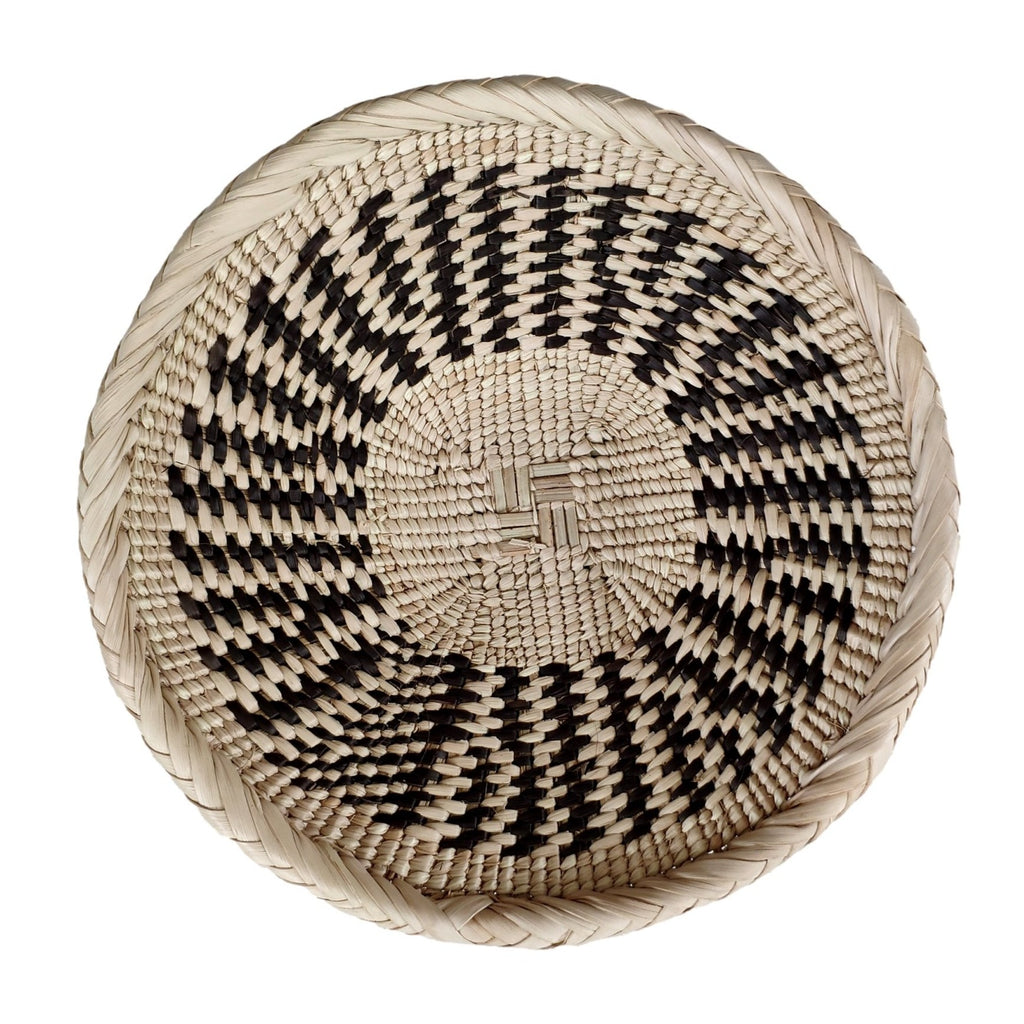 "Binga Basket 18cm (7"") - African Wall Baskets - ZBB2463"