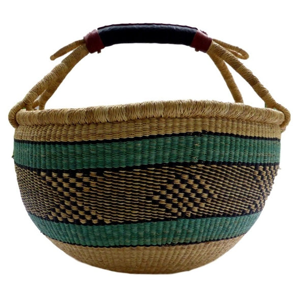 African Basket, Storage Basket, Bolga Basket, Woven Basket, Ethnic, Boho, Very Large,  BABAMB149-17