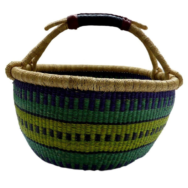 African Basket, Storage Basket, Bolga Basket, Woven Basket, Ethnic, Boho, Very Large,  BABAMB150-17