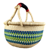 African Basket, Storage Basket, Bolga Basket, Woven Basket, Ethnic, Boho, Very Large,  BABAMB154-17