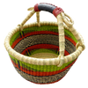 African Basket, Storage Basket, Bolga Basket, Woven Basket, Ethnic, Boho, Medium, BABAMB183-15
