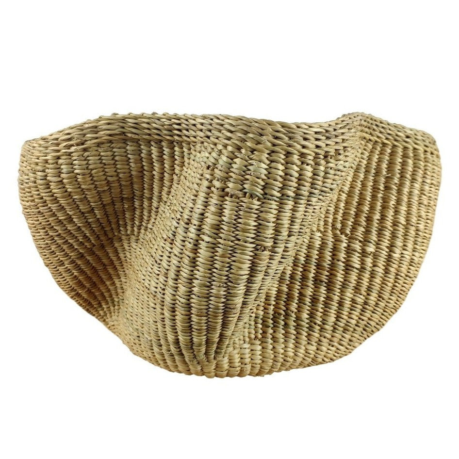 Baba Tiny Wave Basket - African Bolga Basket, Ethnic - BABATW6