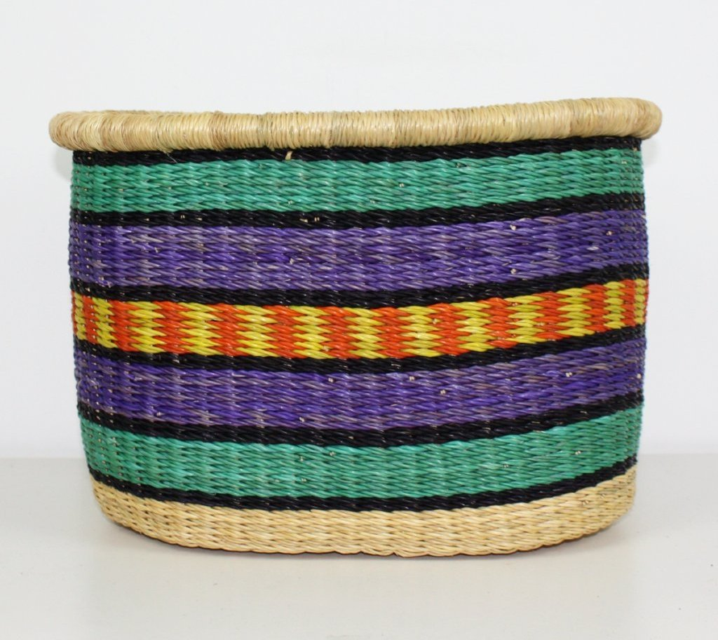 Bicycle Basket, African Basket - BABABB13M Medium