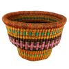 Baba Tiny Drum Basket - African Bolga Basket, Ethnic - BABATD4