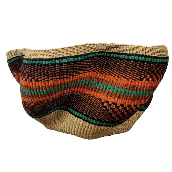 Pakurigo Wave Basket from Ghana - BABAPW17