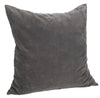 Madam Stoltz Grey Velvet cushion