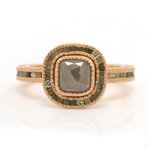 Todd Reed Rough Diamond Ring