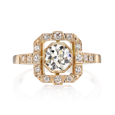 Single Stone Vintage Katie Engagement Ring