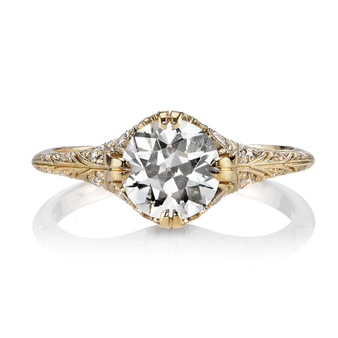 Single Stone Edwardian Era Engagement Ring