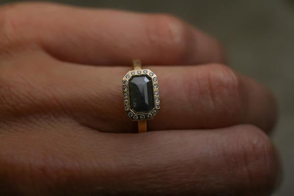 Todd Reed Black Diamond Ring