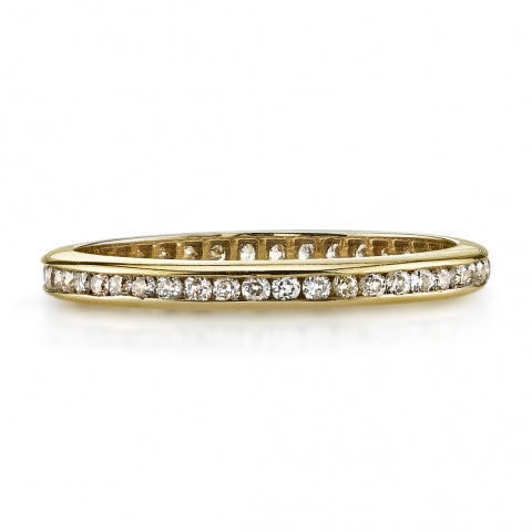 Single Stone Channel Set Eternity Band