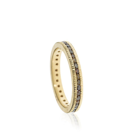 Todd Reed Autumn Diamond Eternity Band