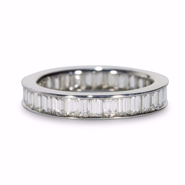 Baguette Diamond Eternity Wedding Ring
