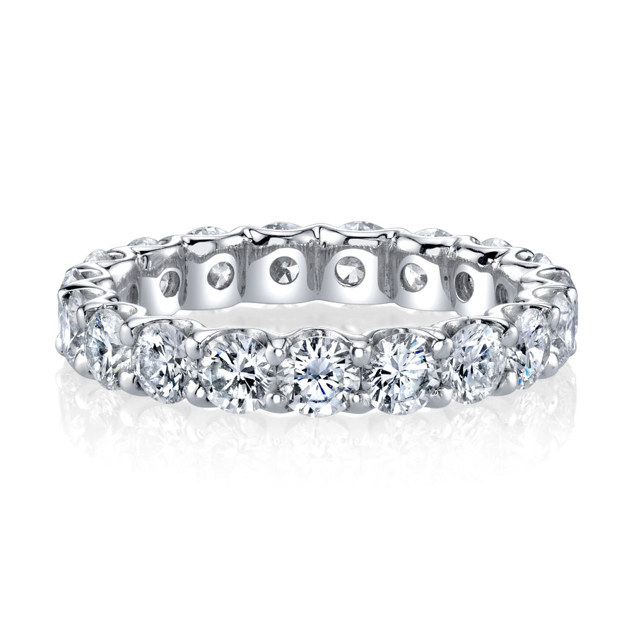 Large Diamond Eternity Band