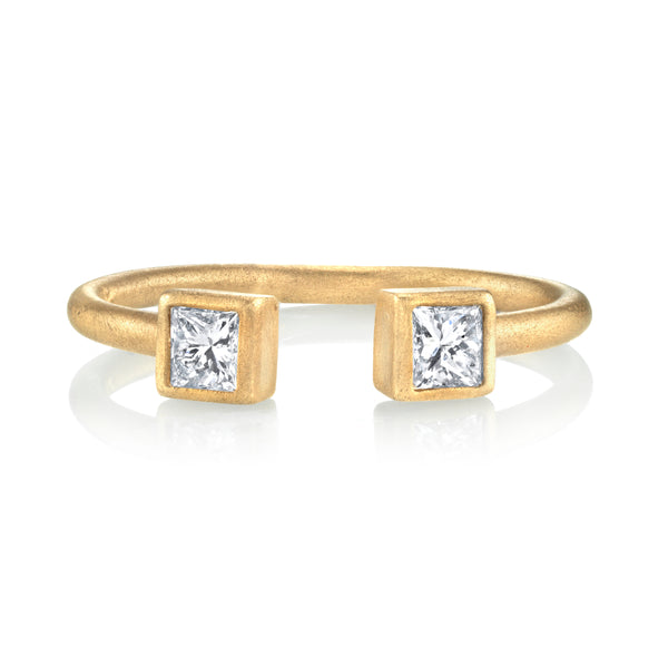 Princess Cut Stacking Ring