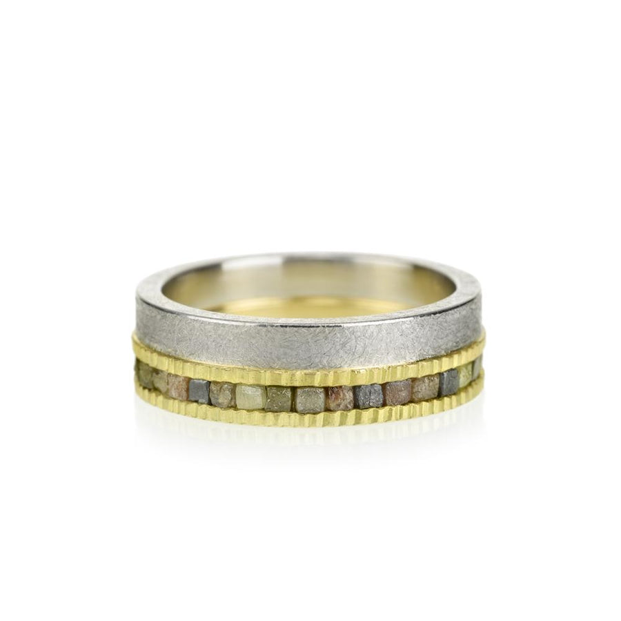 Todd Reed Two Tone Diamond Band