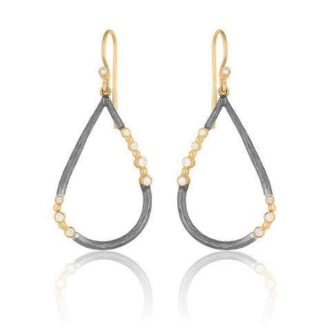 Lika Behar Teardrop Dangle Earrings