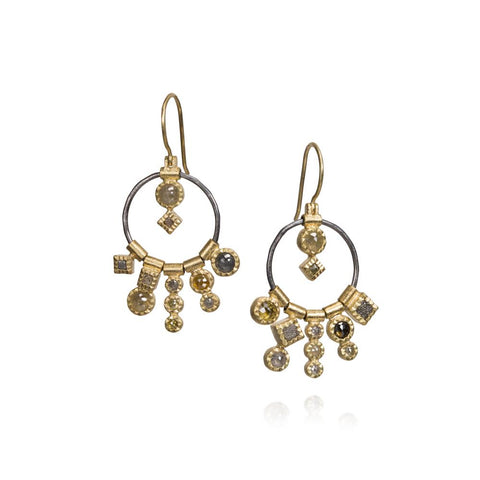 Todd Reed Diamond Drop Earrings