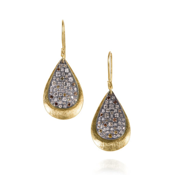Todd Reed Pear Drop Earrings