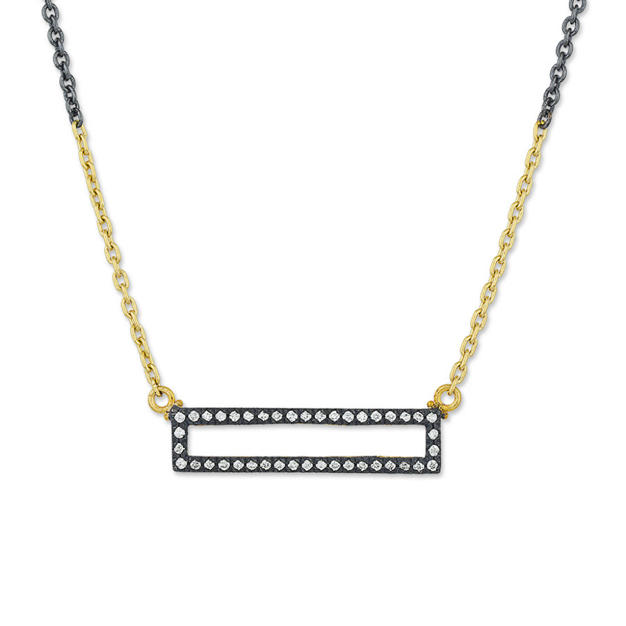 Lika Behar Rectangular Diamond Necklace