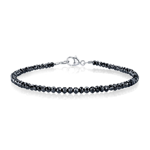 6.01 ct. Black Diamond Bracelet
