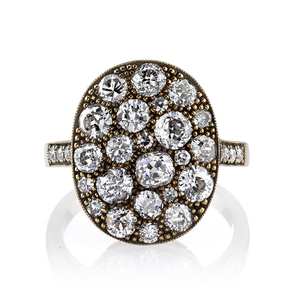 Cobblestone Diamond Ring by Single Stone