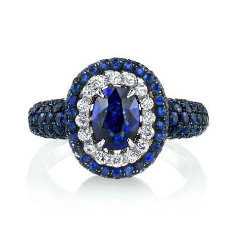 One-of-a-Kind Sapphire Ring