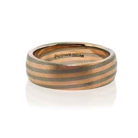 Unique Per Amore Mens Wedding Band