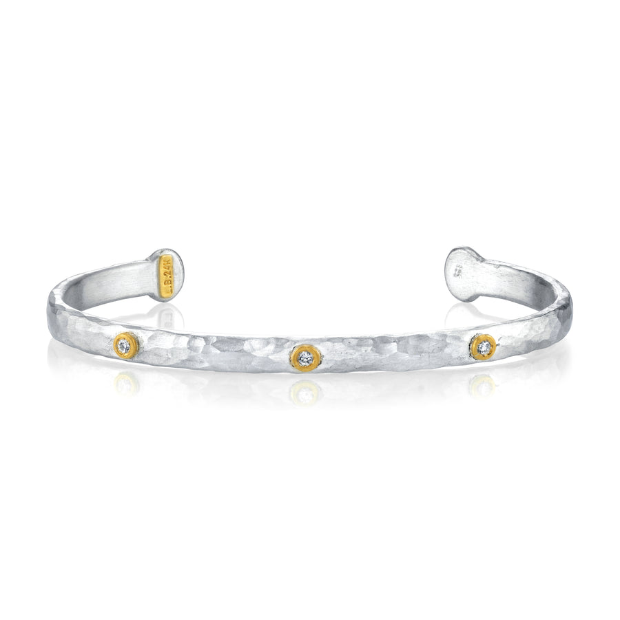 Lika Behar Two-Tone Diamond Cuff