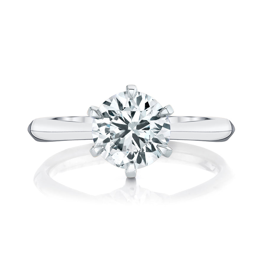 Popular Six Prong Solitaire Settings
