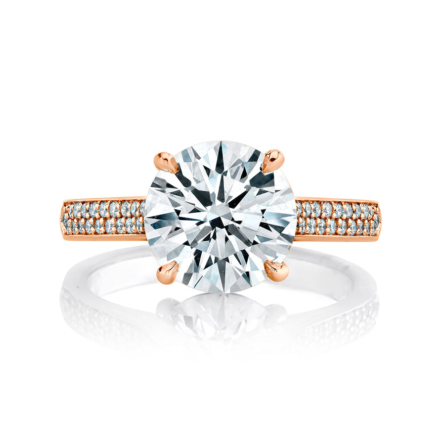 3.18 cttw. Diamond Engagement Ring