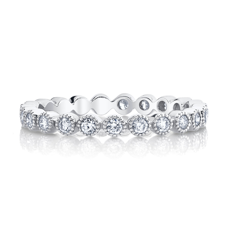 Micro Bezel Eternity Ring