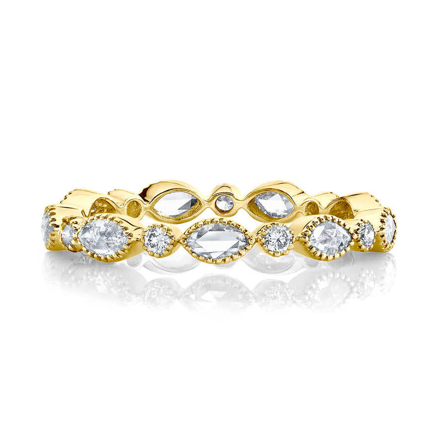 Yellow Gold Popular Stackable Rings