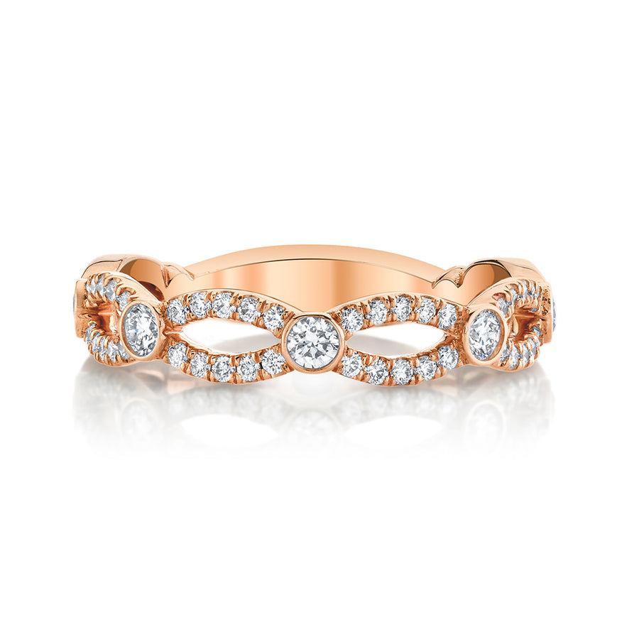 Petite Crossover Ring