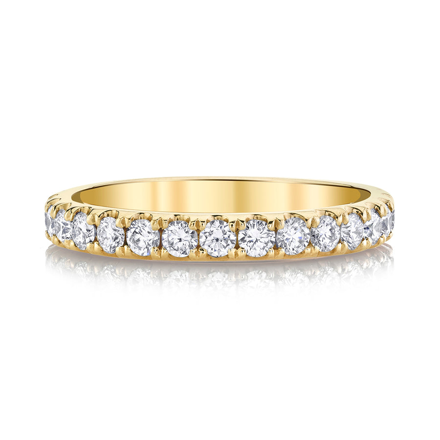 Classic Yellow Gold Diamond Ring