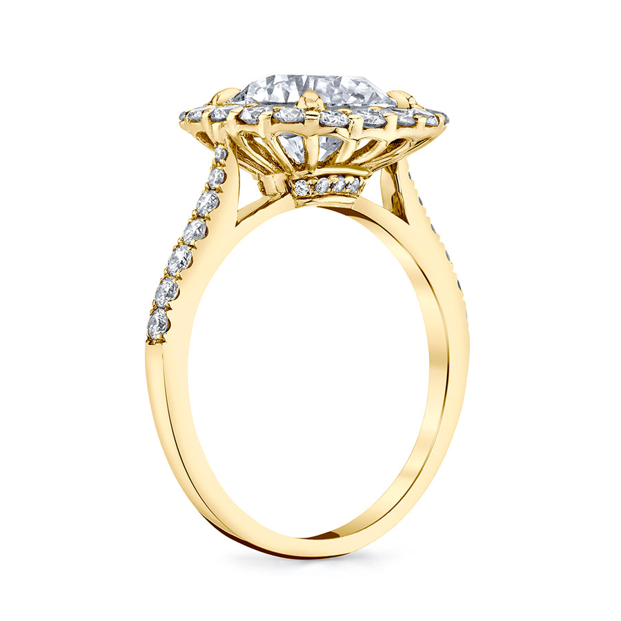 3.12 cttw. Original Diamond Engagement Ring