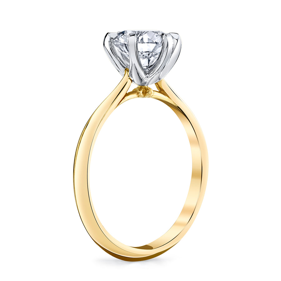 HS Original Six Prong Diamond Setting