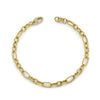Yellow Gold Charm Bracelet