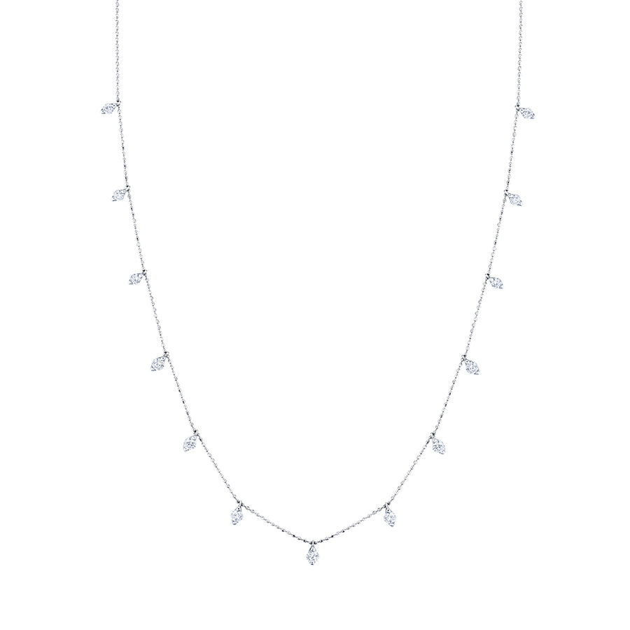 Popular White Gold Diamond Necklaces