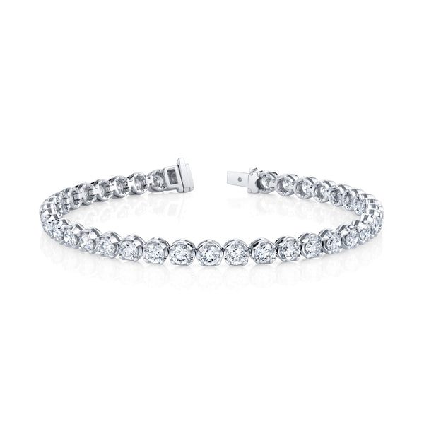 3.74 Ct. Diamond Tennis Bracelet