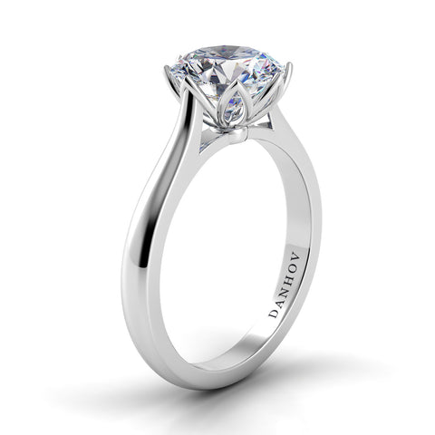 Danhov Classico Solitaire Diamond Engagement Ring