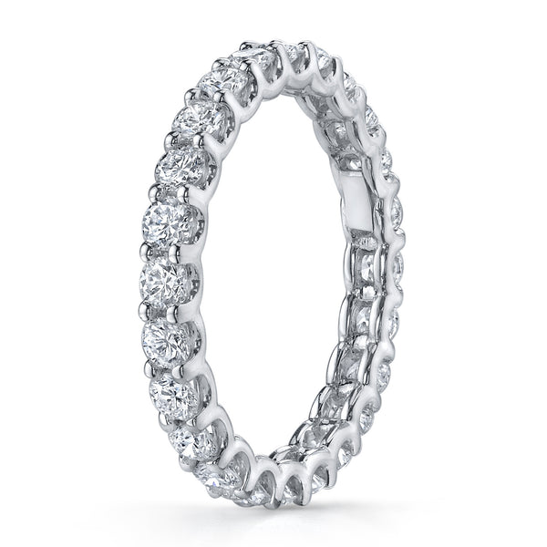 U-Prong Diamond Eternity Band by Harold Stevens