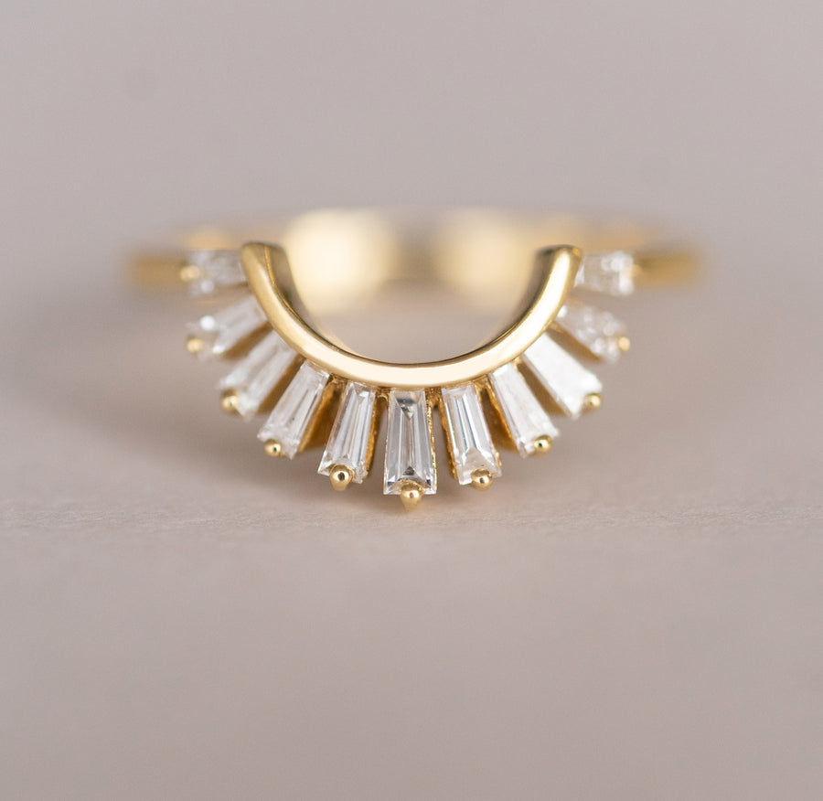 Baguette Nesting Diamond Band