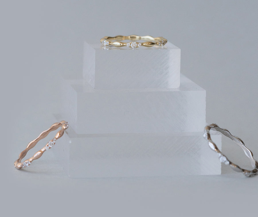 'Tiny Trio' Ring Stack