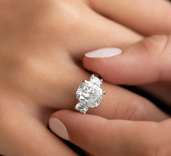 3 Carat Cushion Cut Diamond